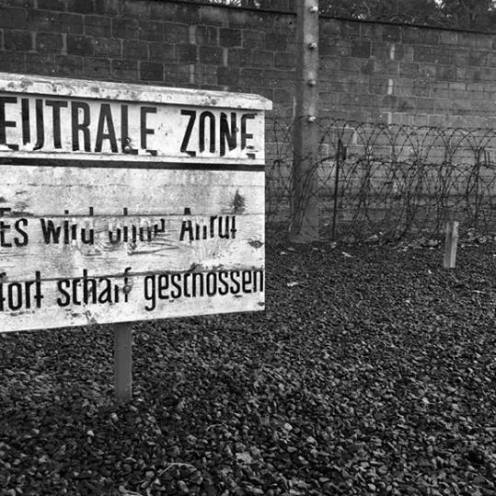 """Dead zone"" - Sachsenhausen Concentration Camp , January 2018"