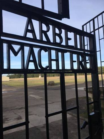 """""""Work makes you free"""" - Sachsenhausen Concentration Camp , January 2018"""